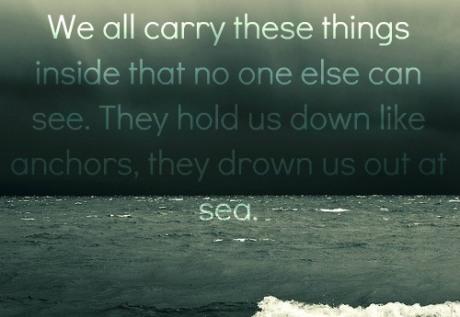 anchor & sea